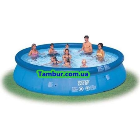 Надувной бассейн INTEX EASY SET POOL (457 СМ Х 84 СМ)+насос-фильтр