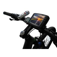 Велосипедная видео камера HD (велофонарь в подарок)
