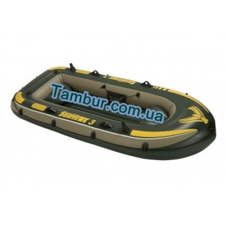 Надувная лодка INTEX трехместная (287 СМ Х 119 СМ Х 42 СМ)