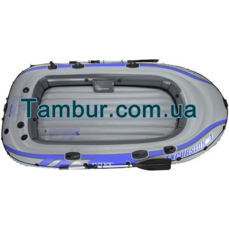 Надувная лодка INTEX четырехместная (315 СМ Х 165 СМ Х 43СМ) (FULL VERSION)