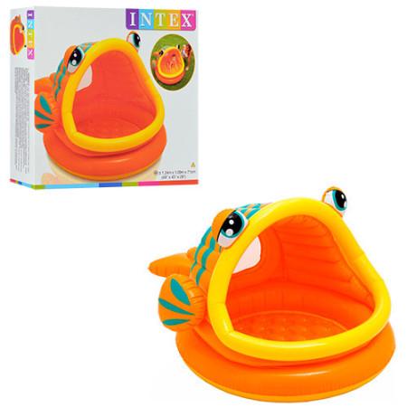 Детский надувной бассейн INTEX (102 СМ Х 69 СМ )