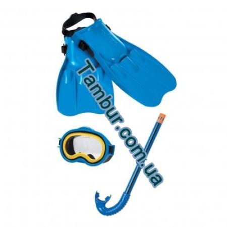 Детский набор(от 3-12 лет) для подводного плаванья INTEX(Маска,трубка,ласты)