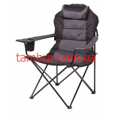 Кресло Директор Серый (рыбалка и отдых)