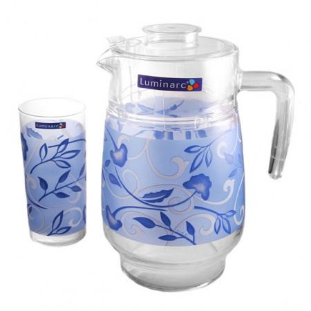 Набор питьевой Luminarc PLENITUDE BLUE  7 приборов