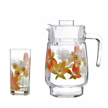 Набор питьевой Luminarc POP FLOWERS 7 приборов
