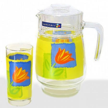 Набор питьевой Luminarc AIME MELYS AZUR 7 приборов