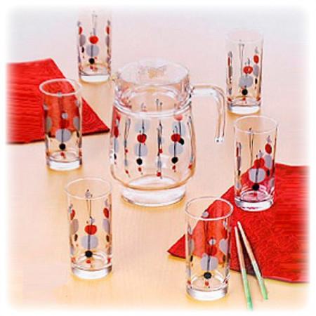 Набор питьевой Luminarc KYOKO WHITE 7 приборов