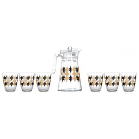 Набор питьевой Luminarc NEO ELMAS SPARKLE  7 приборов