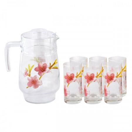 Набор питьевой Luminarc Water Color 7 приборов