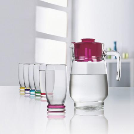 Набор питьевой Luminarc CORTINA RAINBOW 7 приборов