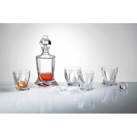 Набор питьевой Bohemia Quadro (Виски)  7 приборов