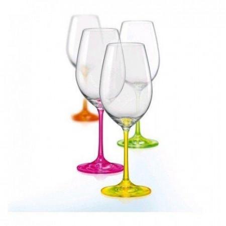 Набор бокалов для вина Bohemia NEON