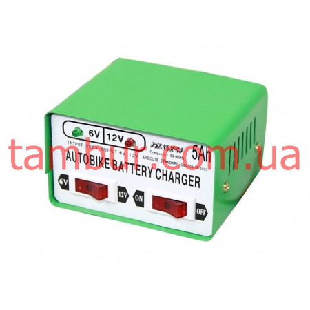 Зарядное устройство autobike battery charger 6-12v