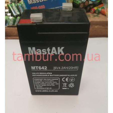 Аккумулятор Mastak 6V 4.2A