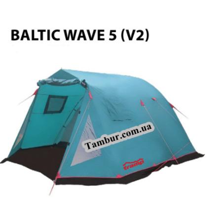 Кемпинговая палатка BALTIC WAVE  5  (V2)