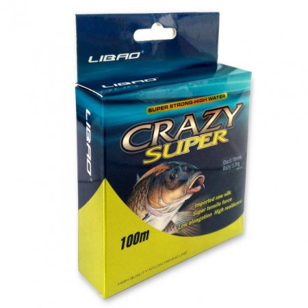 Леска Crazy Super Ø 0.16 - 0.50 мм 100м