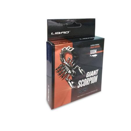 Леска Giant Scorpion Ø 0.16 - 0.50 мм 100м