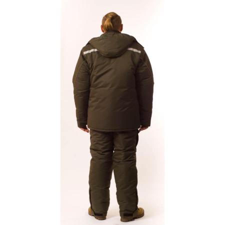 Зимний костюм для рыбалки и охоты SnowMax Gray (элитный)