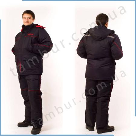 Зимний костюм для рыбалки и охоты SnowMax Red (элитный)
