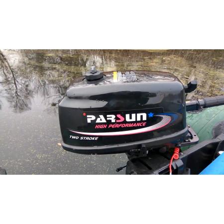Лодочный мотор Parsun Т5.8 BMS(ТЕ5.8) (5.8 л.с. короткий дейдвуд) с дополнительным баком и грушей