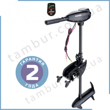 Лодочный электромотор для троллинга Fisher 55