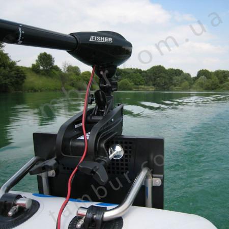 Лодочный электромотор для троллинга Fisher 36 + аккумулятор Gel 100Ah