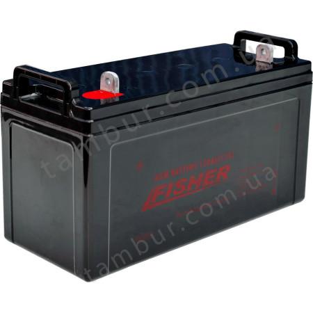 Лодочный электромотор для троллинга Fisher 46 + аккумулятор AGM 120Ah