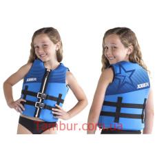 Спасательный жилет Jobe Neoprene Vest Youth Blue (для детей, детский)