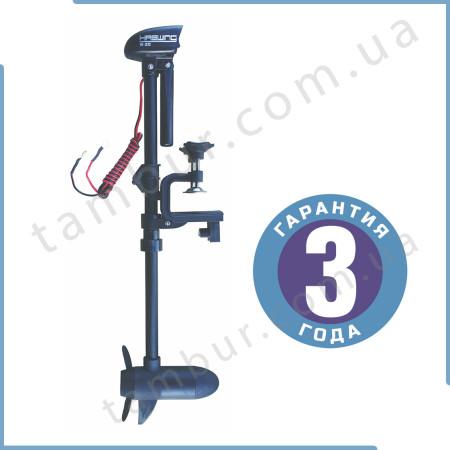 Лодочный электромотор для троллинга Haswing W-20 черный 20lbs