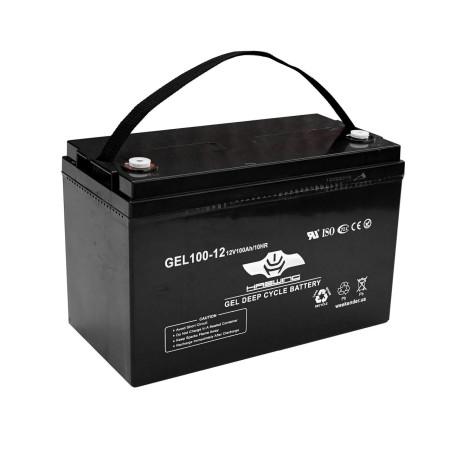 Лодочный электромотор для троллинга  Haswing Osapian 40Lbs черный 12В + гель Haswing 100Ah