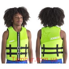 Спасательный жилет Jobe Neoprene Vest Youth Lime Green (для детей, детский)