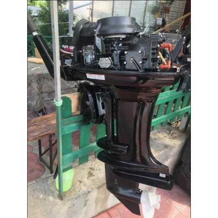 Лодочный мотор Parsun T40FWS-Т  (40 л.с. короткий дейдвуд,  стартер, д/у, эндуро, трим)