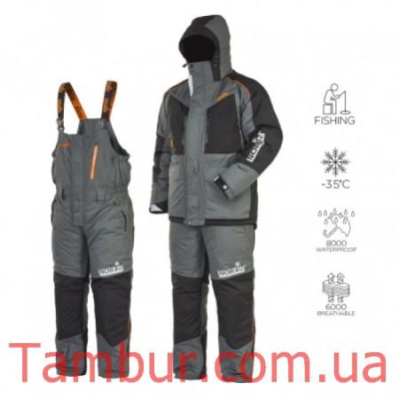 Зимний костюм Norfin Discovery 2 Gray -35°C (обновлённый)