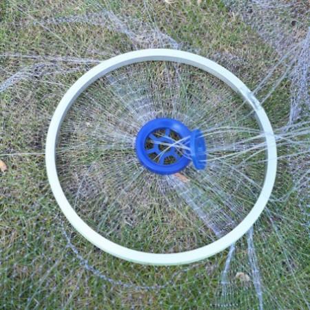Кастинговая сеть парашют американского типа с большим кольцом леска (Американка)