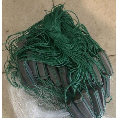 Рыболовная сеть каида 3 метра 3-х стенка 100 м длинна размер ячеи 35-80